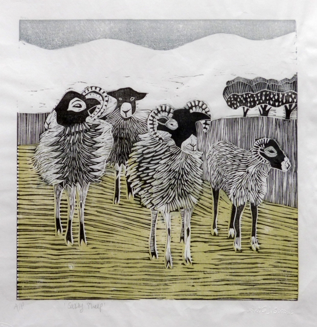 Anita Burrows Sassy Sheep